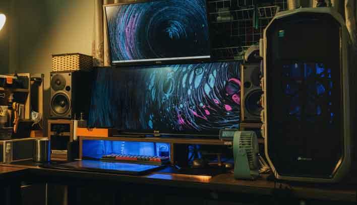 Background PC Gaming Idaman