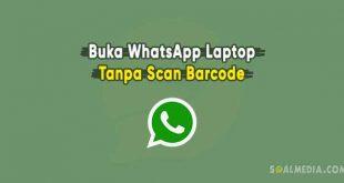 whatsapp laptop tanpa barcode