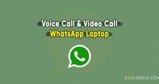 voice call dan video call whatsapp laptop