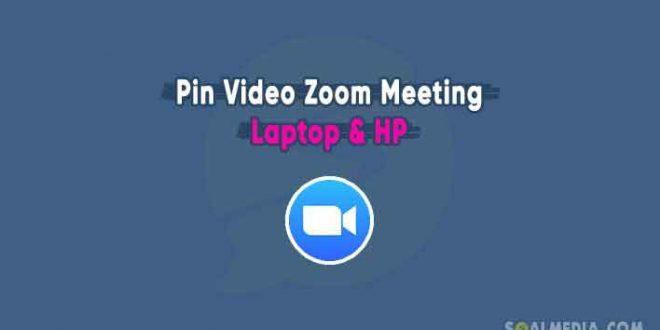 cara pin zoom meeting