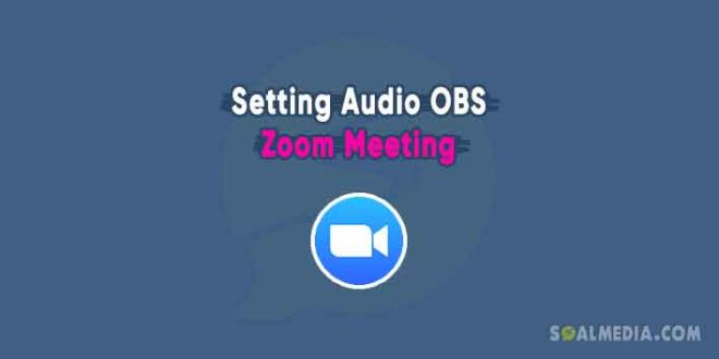 setting audio obs zoom meeting