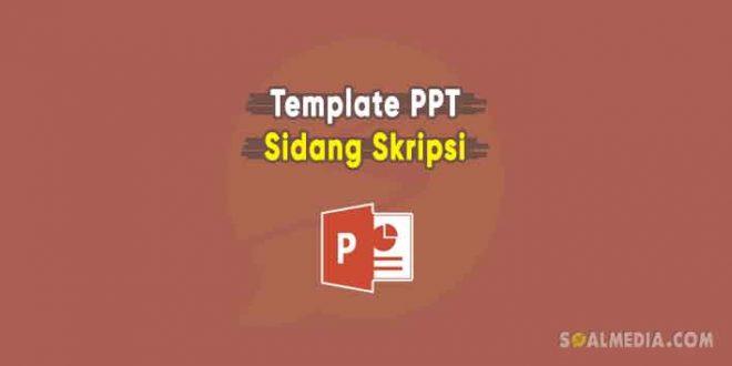 template ppt skripsi