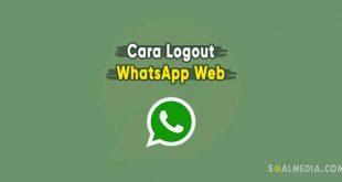 cara logout whatsapp web