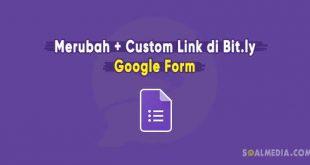 rubah link google form bitly