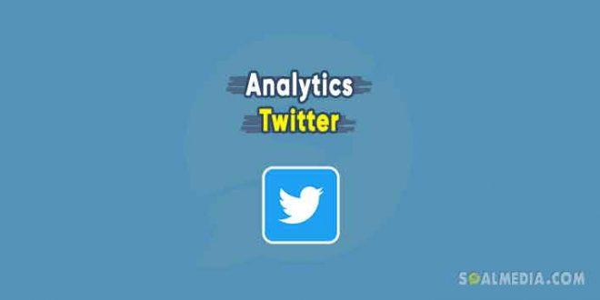 cara lihat twitter analytics